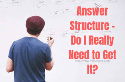 Answer Structure - Do I Really Need to Get It?