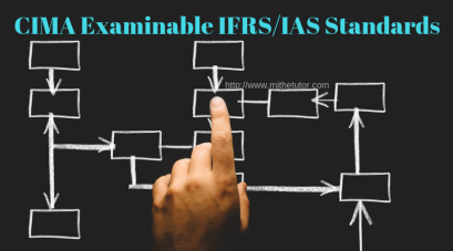 CIMA Examinable IFRS_IAS Standards